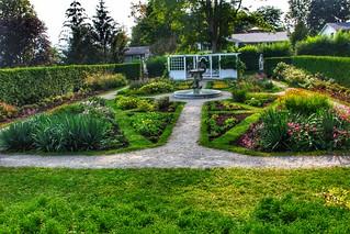 Brockville Ontario Canada  - Fulford Place - Heritage  - Garden