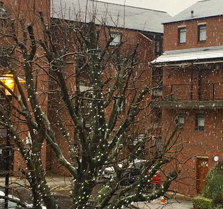 A dusting of snow in London