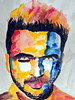 Luis Fonsi (schubertj73) Tags: luis fonsi watercolor watercolour x10 fujifilm gimp aquarell aquarellmalerei mischtechnik mixedmedia ink tusche art kunst malerei painting paintings watercolorpainting musik music charts