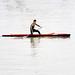 Lone oarsman