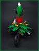Hallowmas (Karf Oohlu) Tags: lego moc hallowmas frog snake parrot owl spider whiterat rat tree treedecoration curlytail