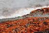 Orange runoff (RPahre) Tags: thermalfeatures orange uppergeyserbasin yellowstone yellowstonenationalpark wyoming fireholeriver geology