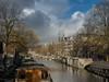 Jordaan Amsterdam (ome.henk) Tags: amsterdam jordaan wester gracht tegenlicht woonboot houseboat canal