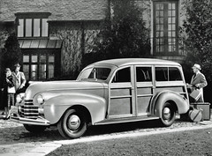 1940 Oldsmobile Station Wagon (coconv) Tags: car cars vintage auto automobile vehicles vehicle autos photo photos photograph photographs automobiles antique picture pictures image images collectible old collectors classic ads ad advertisement postcard post card postcards advertising cards magazine flyer prestige brochure dealer 1940 oldsmobile station wagon 40 olds