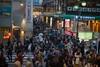 雨上がり溢れる人々 (kasa51) Tags: people street crowded multitude tokyo japan sign city