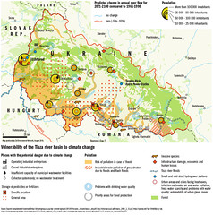 Vulnerability of the Tisza river basin to climate change (Zoi Environment Network) Tags: easterneurope europe climate security environment ecology vulnerability vulnerable climatechange globalwarming region area territory aspect impact influence industry pollution waste species infrastructure invasive problem issue pesticide fertilizer city urban tisza river flood basin hydrology water ukraine romania hungary population flow change evolution map geography