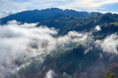 Breaking through the clouds (DavidTeufel) Tags: asia laos travel adventure sony alpha motorbiketour jungle trees clouds sky mountain