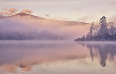 Mystical (Captain Nikon) Tags: sunrise morning derwentwater misty ethereal mystical moody atmospheric cumbria lakedistrict fells lake reflections england keswick nationalpark silhouettes greatbritain landscapephotography