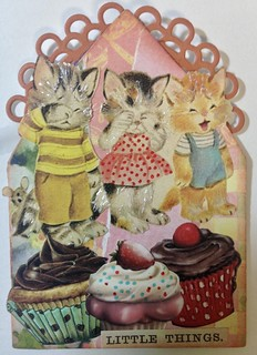 Animals in Clothes Gothic Arch ATC