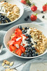 Healthy Fresh Oatmeal with Strawberries (brent.hofacker) Tags: almond background berry blueberry bowl breakfast cereal dairy delicious dessert diet dieting food fresh fruit gourmet grain granola healthy healthybreakfast healthybrunch healthyoatmeal homemade honey meal milk morning muesli natural nutrition oat oatmeal organic porridge rustic snack strawberry sweet tasty vegan vegetarian wooden