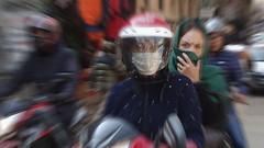 Bikers (posterboy2007) Tags: kathmandu nepal motorcycle riders bikes bikers street blur zoom sony