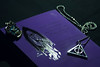 Symbols (hamiamichu) Tags: hogwarts ravenclaw book scarf deathly hallows harry potter
