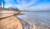 December dune walk (jaros 2(Ron)) Tags: sandbanks sandbanksprovincialpark ontario princeedwardcountyontariocanada nikond800 nikon1635f4pro raw water dunes ontarioprovincialparks eastlakeontario