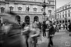 Nothing else (Luca_Mapelli) Tags: photo by luca mapelli street photography persone people strada bianco e nero black white milano teatro la scala italia turisti tourist long exposure movimento movement nothing else