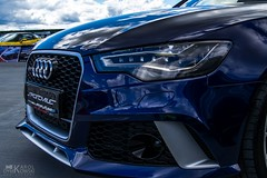 Face of RS (kdymkowski) Tags: audi rs6 rs car vehicle automotive auto light headlights german germany speed sport outdoor sky cloud day daylight front color colors grill bumper reflects photography spot city urban parking sportcar supercar motoring motorsport tuning