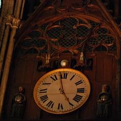 10 - Reims - Cathédrale Notre-Dame - L'horloge astronomique - Détail (melina1965) Tags: reims marne grandest octobre october 2017 nikon d80 macro macros sculpture sculptures église églises church churches bois wood horloge horloges clock clocks
