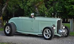 "1932 Ford Roadster ""Highboy"" (Custom_Cab) Tags: 1932 ford roadster highboy hiboy hot custom street rod green car deuce"