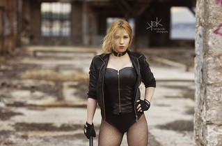 Portraits of Yvaine Dazzling as Black Canary, by SpirosK photography