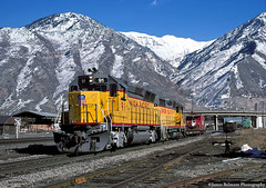 A Forty With Flare (jamesbelmont) Tags: railway emd gp40x provo utah unionpacific wasatch