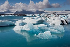 Jökulsárlón Iceberg Lagoon (aivar.mikko) Tags: iceland jökulsárlón lagoon icebergs vatnajökull glacial lake glacier vatnajokull jökulsarlon jokulsarlon tongue iceberg blue ice icelandic nordic island national park atlantic islands