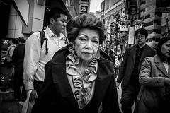 Tokyo monochrome (harumichi otani) Tags: bw blackandwhite monochrome street streetphotography streetphoto
