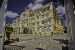 The ministry of Posts and Telecommunications (ur.bes) Tags: cambodge cambodia canon phnompenh 2017 600 600d eos penh phnom capitale town ville hdr high dynamic range