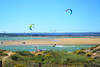 Let the wind carry you (riahostelalvor) Tags: kite kitesurfing landscape blue sports watersports algarve portugal alvor