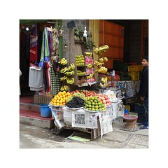 Fruit vendor (posterboy2007) Tags: kathmandu nepal fruit vendor street seller sony