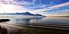 Lac Léman depuis Veytaux (Suisse - canton de Vaud) (olivierurban) Tags: sonyilce6000 voigtlanderheliarhyperwide10mmf56 lac léman vague nuage veytaux