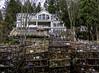 Do crabs bring riches (Tony Tomlin) Tags: crescentbeach crescentbeachmarina crabpots mansion