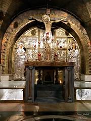 98 - Golgota a Szent Sír templomban / Kalvária v Bazilike Božieho hrobu