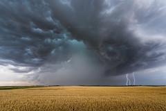Cyclops and the triple strikes (John Finney) Tags: storm kansas stormchasing lightning cyclops thunder extremeweather weather tornadoalley