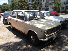 1980 Lada 2101 (Alpus) Tags: lada 2101 cars car russian retro classic bulgaria sofia
