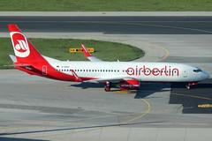 Air Berlin Boeing 737-86J D-ABAP (c/n 28070) (Manfred Saitz) Tags: vienna schwechat vie loww flughafen wien airport air berlin boeing 737800 738 b738 dabap dreg