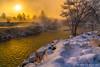 Break Through (James Neeley) Tags: idahofalls snakeriver fog winter jamesneeley