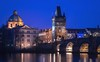 Charles Bridge (Karlův most) (bialobrody) Tags: prague praha praga blue bluehour tower
