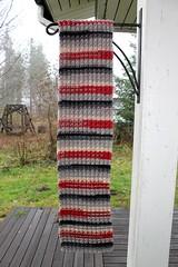 2017.11.08. salla kaulaliina 3317m (villanne123) Tags: 2017 kaulaliina scarf knitting neulottu teeteesalla villanne