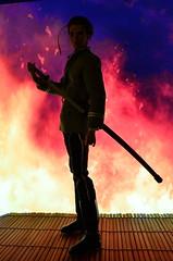Saitō Hajime (Dolldiva67) Tags: fashionroyalty integritytoys homme kieronmorel rurounikenshin rurounikenshinliveactionmovie saitohajime hajimesaito fire inferno kyotoinferno rurounikenshinkyotoinferno