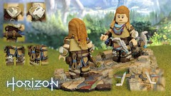 Aloy - Horizon Zero Dawn (AndrewVxtc) Tags: custom lego minifigure toy horizon zero dawn aloy andrewvxtc