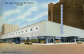 Greyhound Bus Terminal, Chicago, Illinois