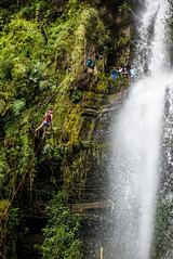 Rappel - Cascada la Chorrera (RobertContrer) Tags: lachorrera rappel cascada choachí colombia waterfall