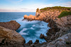 "S'Olla (""the pot"") (Max W!nter) Tags: landscape nature seascape solla mallorca longexposure mar sunset light coast rocks baleares mediterranean waves olas meer nikon nikkor blue azul pot spain españa longexpo"