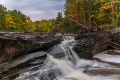 Autumn on the big iron river (Cole Chase Photography) Tags: upperpeninsula michigan autumn
