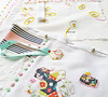 hankies (contemporary embroidery) Tags: handkerchief embroidery hexagons edges applique
