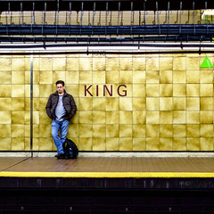 King (Hub☺) Tags: 2012 canada ontario subway tile toronto train transport ttc vehicle