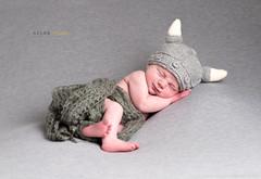 The Viking Have Landed... (Allan James Fisher) Tags: newborn viking