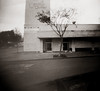 We've moved (efo) Tags: bw pinhole elcerrito guitarcenter closed papernegative