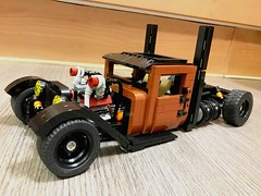 RATical Industries 1930 Ford Model AA Truck (Peeters Kevin) Tags: modela ford model hot rat rod truck ratrod hotrod cars lego