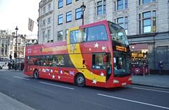 VLE615 LJ07XES (PD3.) Tags: volvo east lancs vle615 vle 617 lj07xes lj07 xes city sightseeing citysightseeing london bus buses england uk sight seeing psv pcv open top topper topless tour tourbus