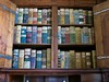 Bunte Bürokratie (mobilix) Tags: prag bücherschrank grundbücher einsonce hradschin pragerburg kanzlei folianten kw46411 bibliothek library books